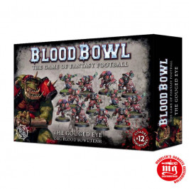 THE GOUGED EYE ORC BLOOD BOWL TEAM 200-15