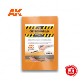 ESPUMA DE 8 MM TAMAÑO A4 AK8095