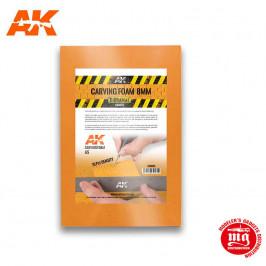 ESPUMA DE CONSTRUCCION DE 8 MM A5 AK8093