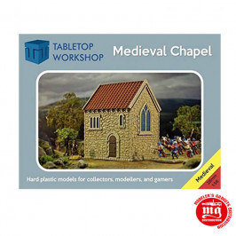 MEDIEVAL CHAPEL TABLETOP WORKSHOP 28MEDCHAP