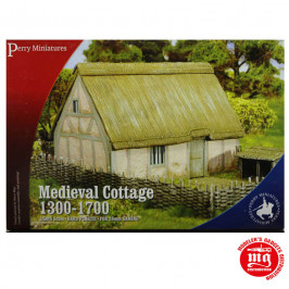 MEDIEVAL COTTAGE 1300-1700 PERRY MINIATURES