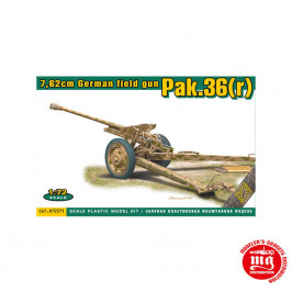 7.62 CM GERMAN FIELD GUN PAK.36r ACE 72571
