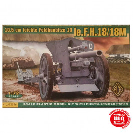 10.5 CM LEICHTE FELDHAUBITZE 18 Ie.F.H.18/18M ACE 72216