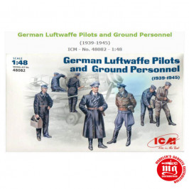 GERMAN LUFTWAFFE PILOTS AND GROUND PERSONNEL 1939-1945 ICM 48082