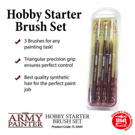 HOBBY STARTER BRUSH SET THE ARMY PAINTER TL5044