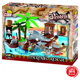 MERMAID RESCUE PIRATES COBI 6023
