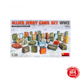 ALLIES JERRY CANS SET WW2  MINIART 35587