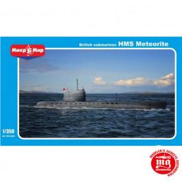 SUBMARINO BRITANICO HMS METEORITE MIKROMIR 350-020