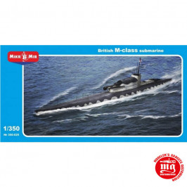 BRITISH M-CLASS SUBMARINE MIKROMIR 350-025