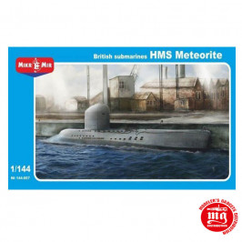 BRITISH  SUBMARINES HMS METEORITE MIKROMIR 144-007