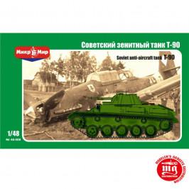 SOVIET ANTI AIRCRAFT TANK T-90 MIKROMIR 48-008 ESCALA 1:48