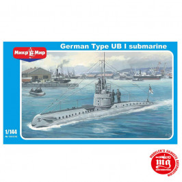 GERMAN TYPE UB I SUBMARINE MIKROMIR 144-016
