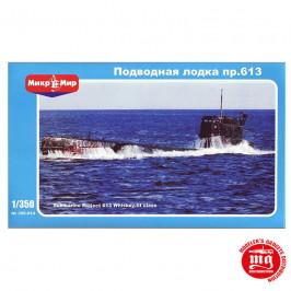 SOVIET PROJECT 613 WHISKEY CLASS SUBMARINE MIKROMIR 350-014
