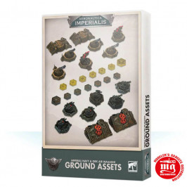 AERONAUTICA IMPERIALIS IMPERIAL NAVY AND ORK AIR WAAAGH GROUND ASSETS