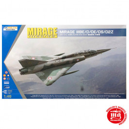 MIRAGE IIIBE/D/DE/DS/D2Z KINETIC K48054