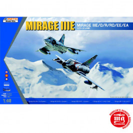 DASSAULT MIRAGE IIIE KINETIC K48050
