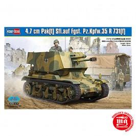 4.7 CM PAK T SFL.AUF FGST. PZ.KPFW.35 R 731 F HOBBY BOSS 83807