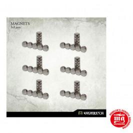 SET DE IMANES 3 X 1 MM KROMLECH KRMA039