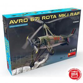 AVRO 671 ROTA MK.I RAF MINIART 41008