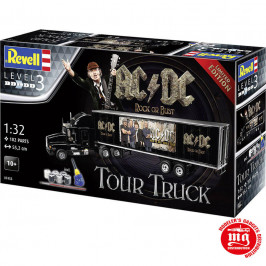 AC/DC TOUR TRUCK ROCK OR BUST WORLD TOUR REVELL 07453