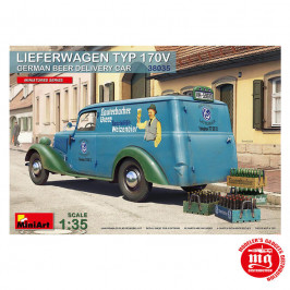 LIEFERWAGEN TYP 170V GERMAN BEER DELIVERY CAR MINIART 38035