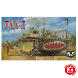 LVT-4 U.S. WATER BUFFALO EARLY TYPE LANDING VEHICLE TRACKED AFV CLUB AF35205