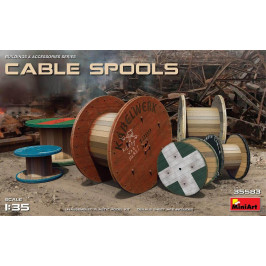 CABLE SPOOLS MINIART 35583