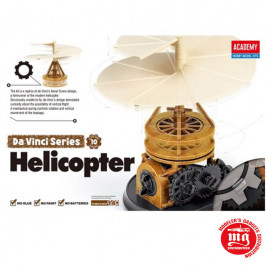 DA VINCI MACHINE SERIES 10 HELICOPTER ACADEMY 18159