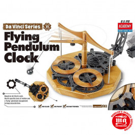 DA VINCI MACHINE SERIES 11 FLYING PENDULUM CLOCK ACADEMY 18157