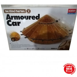 DA VINCI MACHINE SERIES 3 ARMOURED CAR ACADEMY 18136
