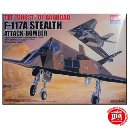 F-117A STEALTH ATTACK BOMBER THE GHOST OF BAGHDAD ACADEMY 12475