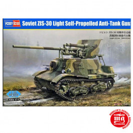 SOVIET ZIS-30 LIGHT SELF PROPELLED ANTI TANK GUN HOBBY BOSS 83849