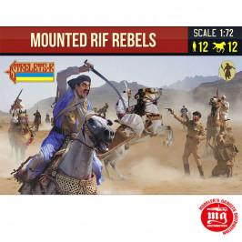 MOUNTED RIF REBELS STRELETS R