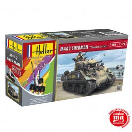 M4A2 SHERMAN DIVISION LECLERC HELLER 56894