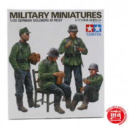 GERMAN SOLDIERS AT REST TAMIYA 35129