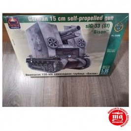 sIG 33 Sf GERMAN 15 CM SELF PROPELLED GUN BISON ARK 35005
