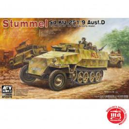 STUMMEL Sd Kfz 251/9 Ausf D AFV CLUB AF35278