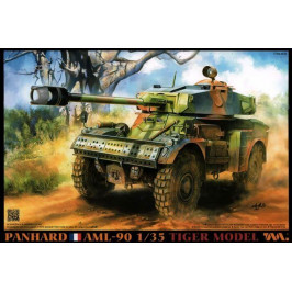 PANHARD AML 90 LIGHT ARMOURED CAR  TIGER MODEL 4635 ESCALA 1:35