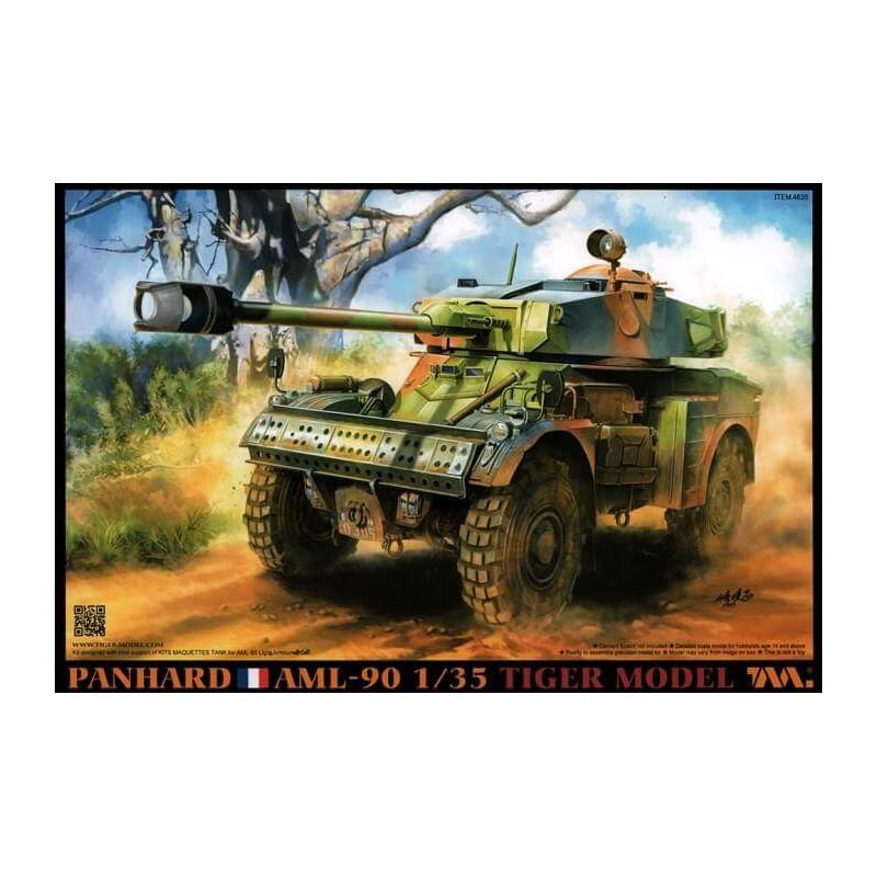 PANHARD AML 90 LIGHT ARMOURED CAR  TIGER MODEL 4635