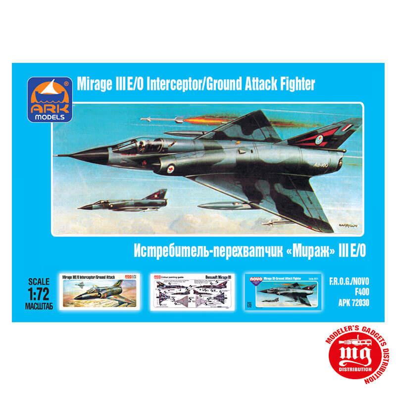MIRAGE III E/O INTERCEPTOR/GROUND ATTACK FIGHTER ARK APK 72030