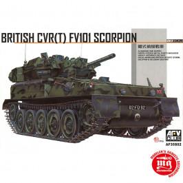 BRITISH CVR T FV101 SCORPION AFV CLUB AF35S02