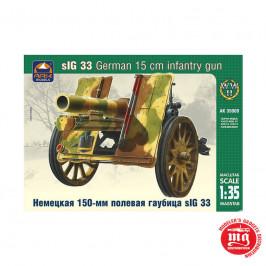 sIG 33 GERMAN 15 cm INFANTRY GUN  ARK MODELS AK 35009