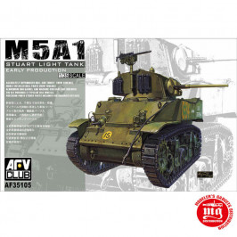 M5A1 STUART LIGHT TANK EARLY PRODUCTION AFV CLUB AF35105