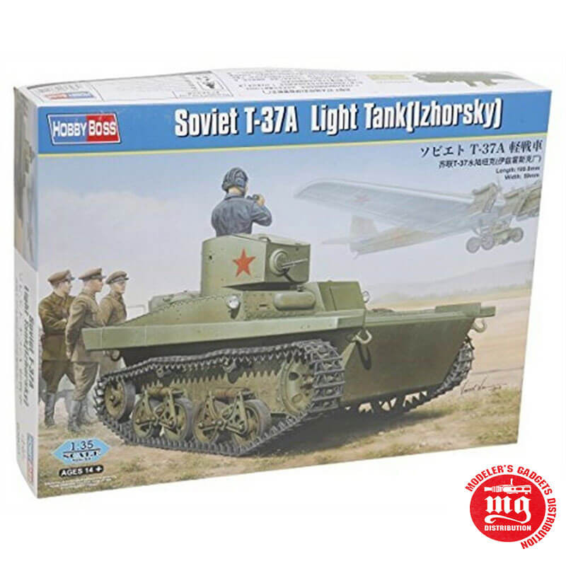 SOVIET T-37A TANK IZHORSKY HOBBY BOSS 83821