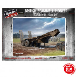BRITISH SCAMMELL PIONEER TRCU30 TRAILER 30t GOOSE NECK THUNDER MODEL 35208