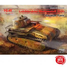 LEICHTTRAKTOR RHEINMETALL 1930 GERMAN TANK ICM 35330