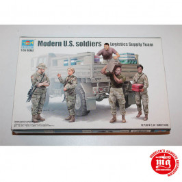MODERN US SOLDIERS LOGISTICS SUPPLY TEAM TRUMPETER 00429