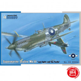 SUPERMARINE SEAFIRE Mk.III LAST FIGHTS OVER THE PACIFIC SPECIAL HOBBY SH48052
