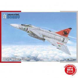 SAAB JA-37 VIGGEN FIGHTER SPECIAL HOBBY SH72384