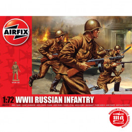WWII RUSSIAN INFANTRY AIRFIX A01717